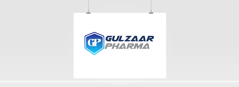 Gulzaar Pharma Logo Design