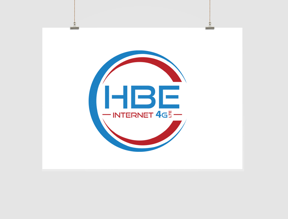 HBE Internet  Logo Design