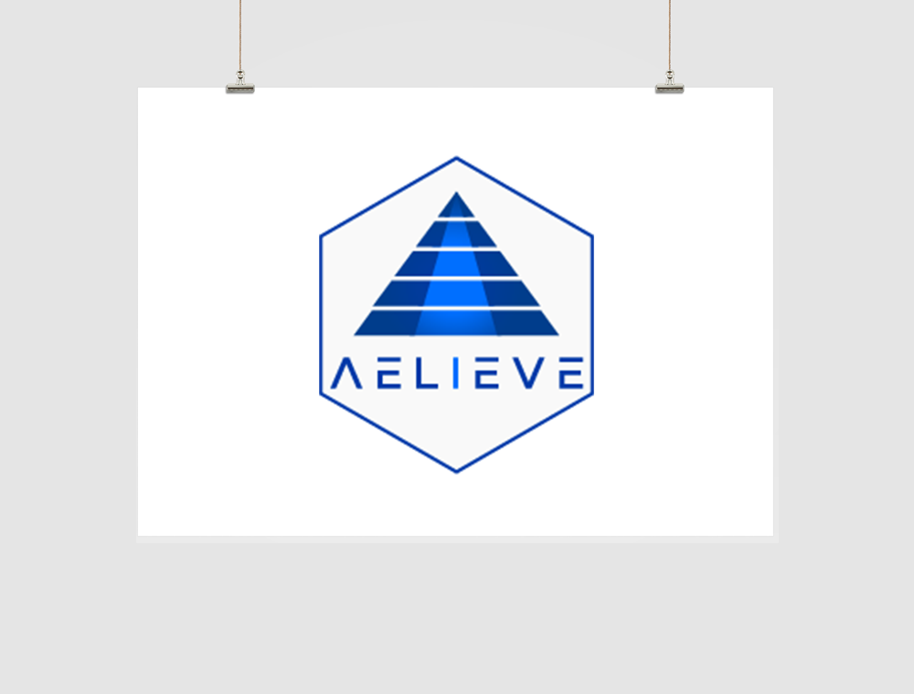 Aelieve Logo Design