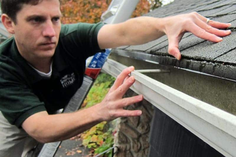 Iowa Home Inspection Flashing And Gutters