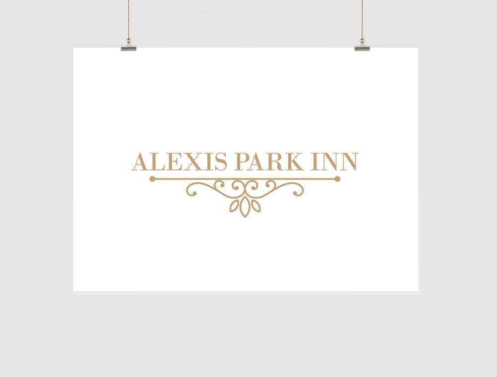 Alexis Park Inn Logo Design