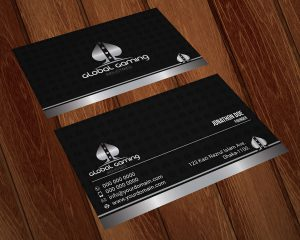 Global Gaming Industries Business Card Design