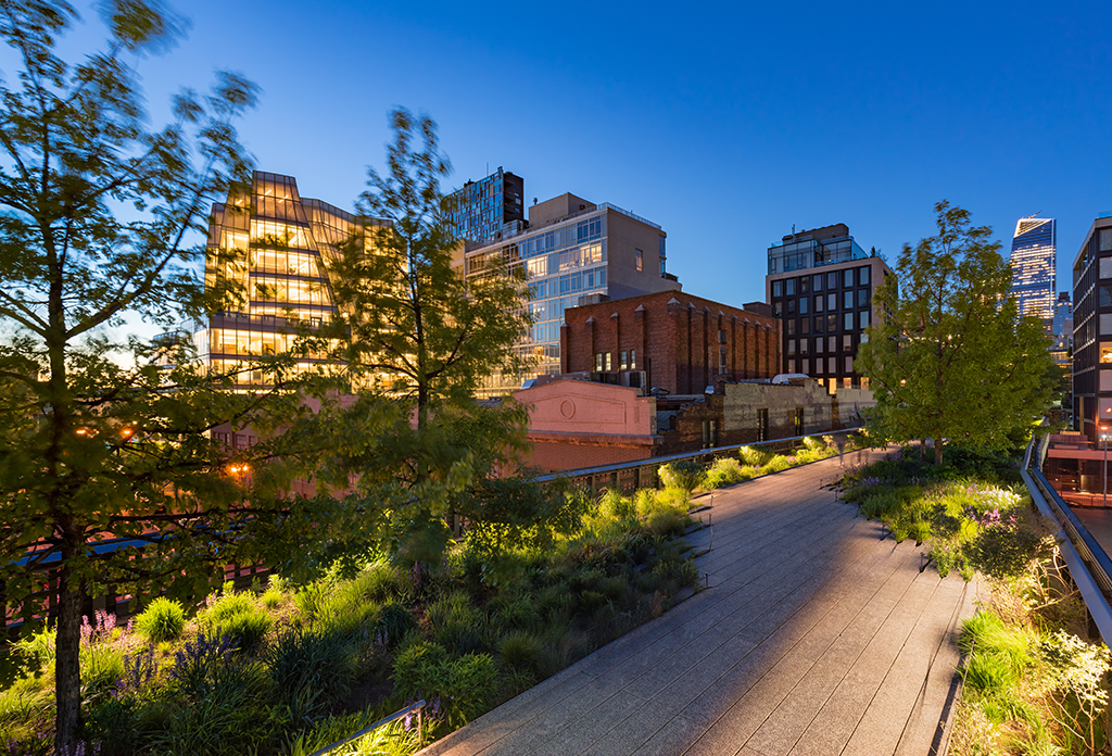 The High Line At Night