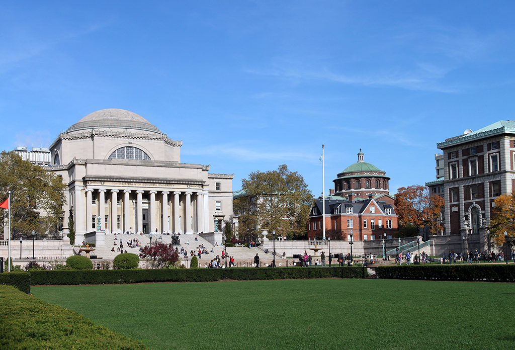 Columbia University Campus Daytime