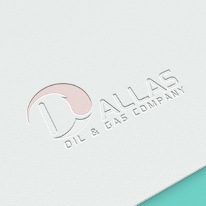 Dallas Oil & Gas Company Logo Design
