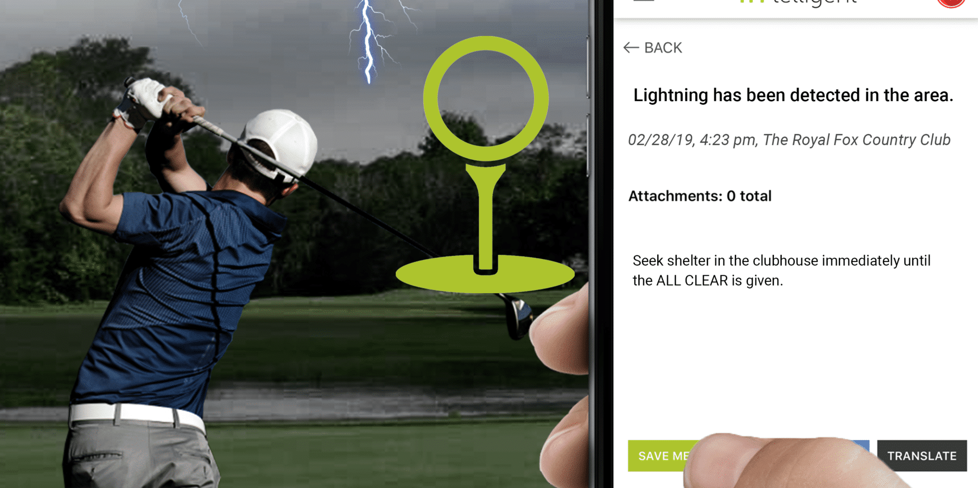 IN-TELLIGENT'S NEW OUTDOOR DIVISION DELIVERS SMARTER LIGHTNING SAFETY TO GOLF COURSES AROUND THE COUNTRY