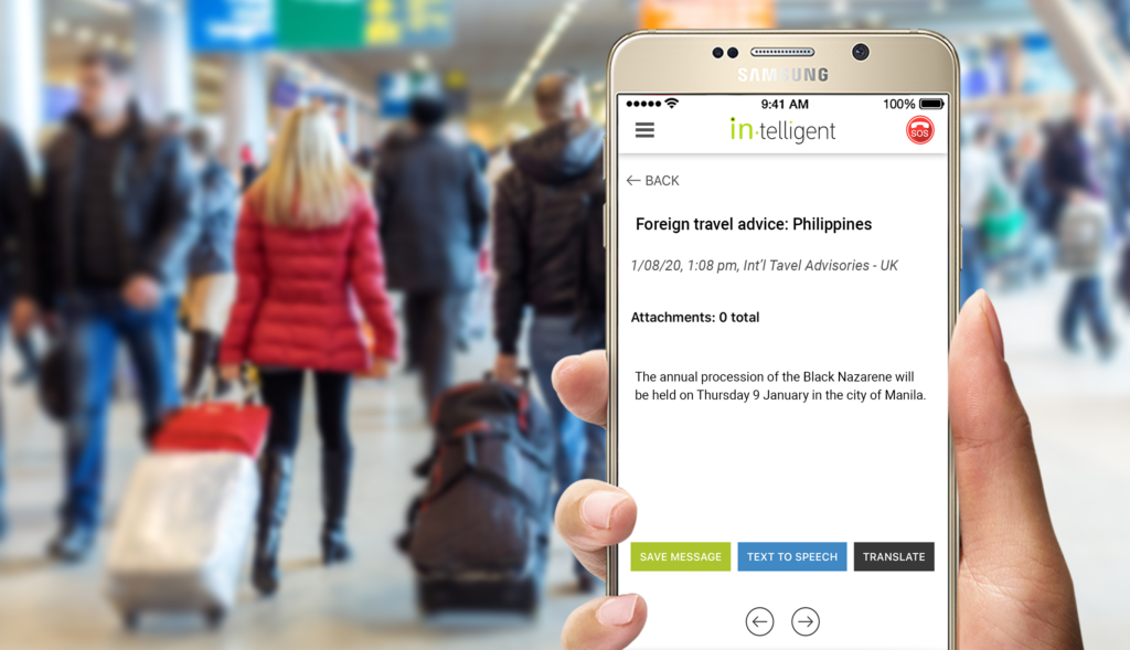 Keeping Travelers Informed with Real-Time Travel Alerts