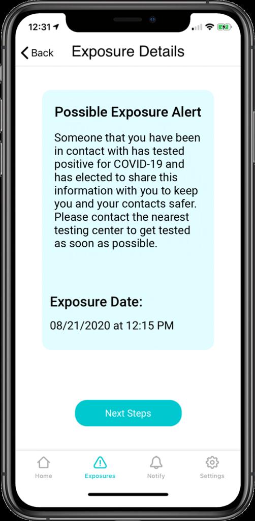 Exposure COVID Possible Exposure Alert (1)