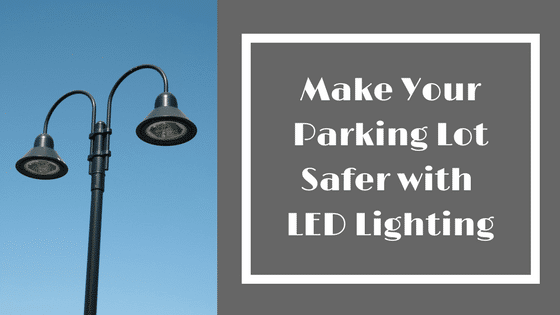 LED parking lots