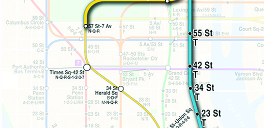 Second Avenue Subway Line