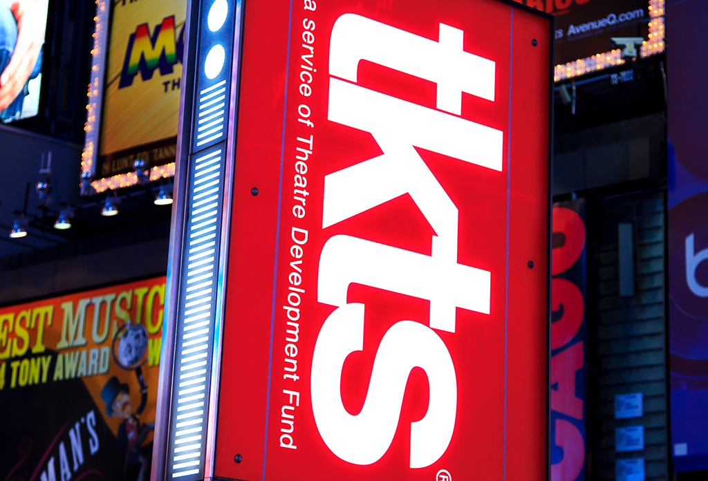 Tkts In The Theatre District