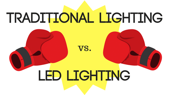 traditional lighting vs leds