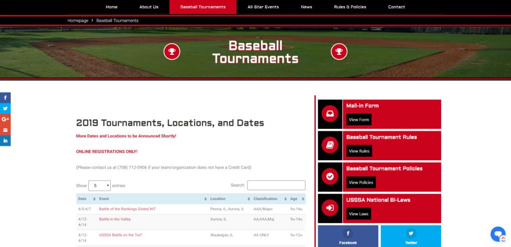 Premier Sports Events