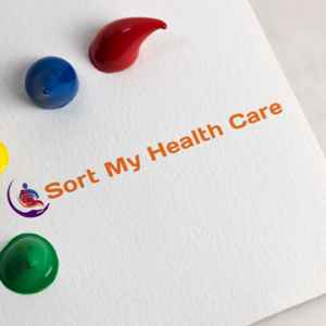 Sort My Health Care Logo Design