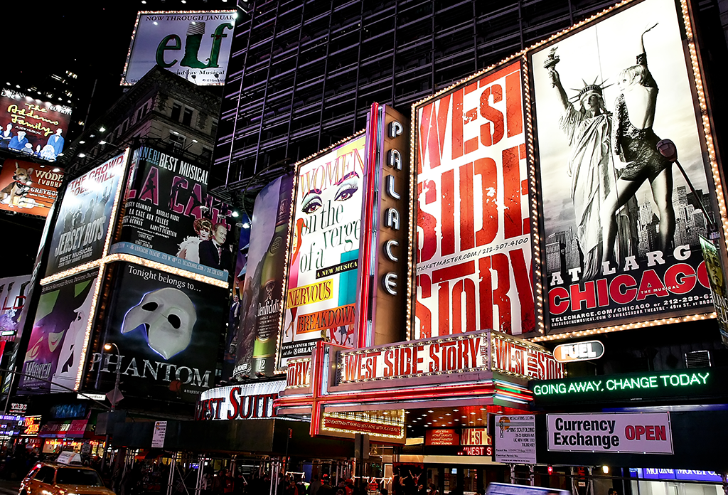 Broadway Shows In The Theater District