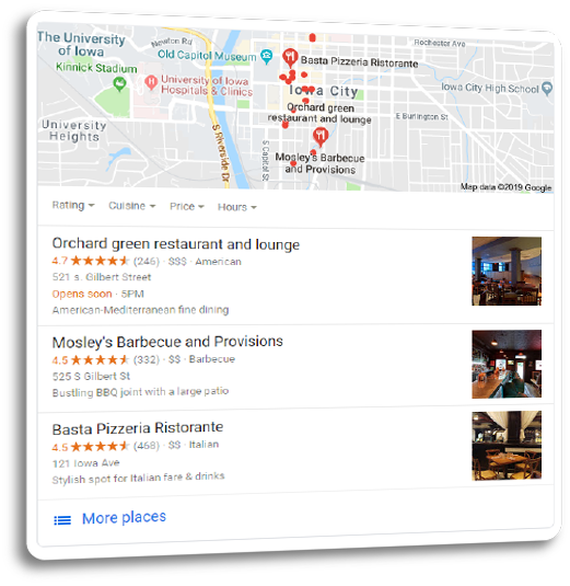 Local Search Optimization