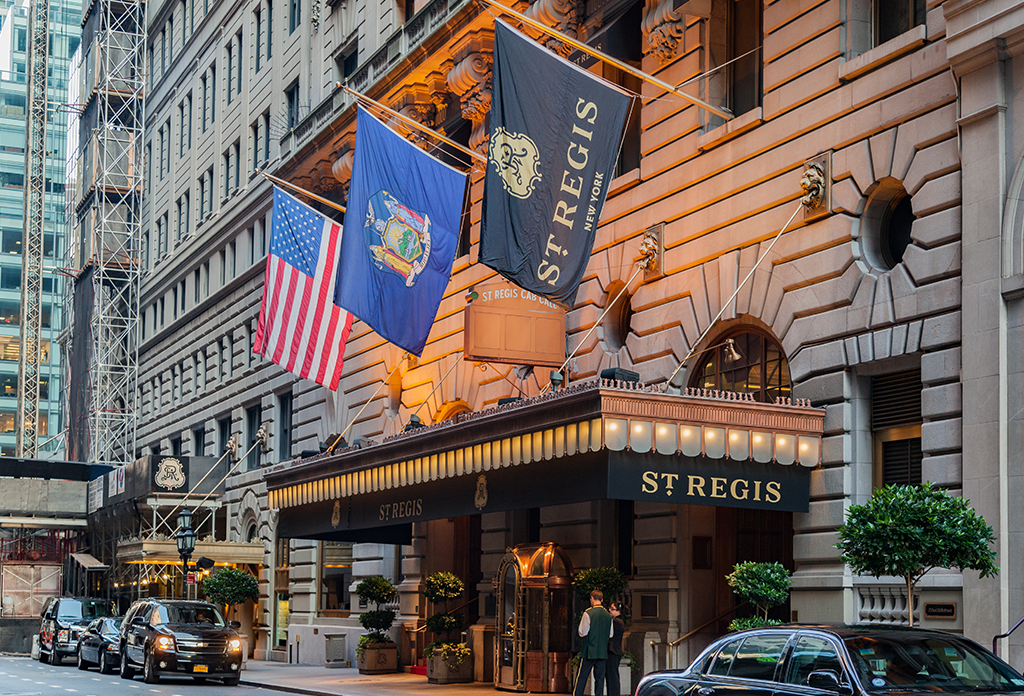The St. Regis Hotel In Midtown Off 5th Avenue