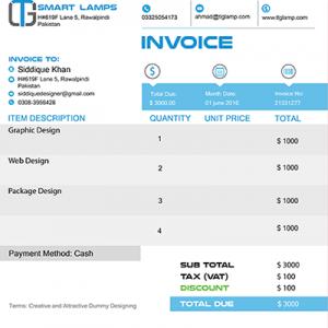 TLG Smart Lamp Branding