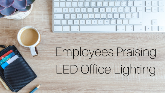 LED office lighting praise