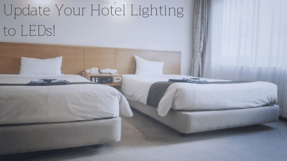 LED hotel lighting