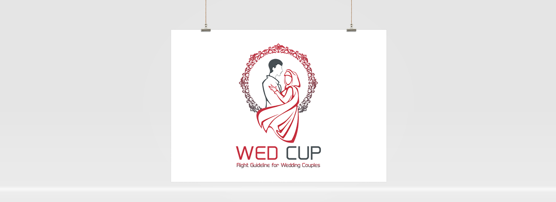 WedCup Logo Design