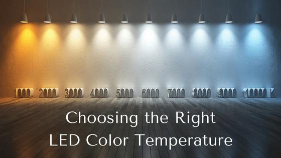 LED color temperature blog image