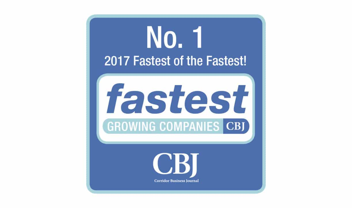 Sitler's Named Fastest Growing Company in Corridor