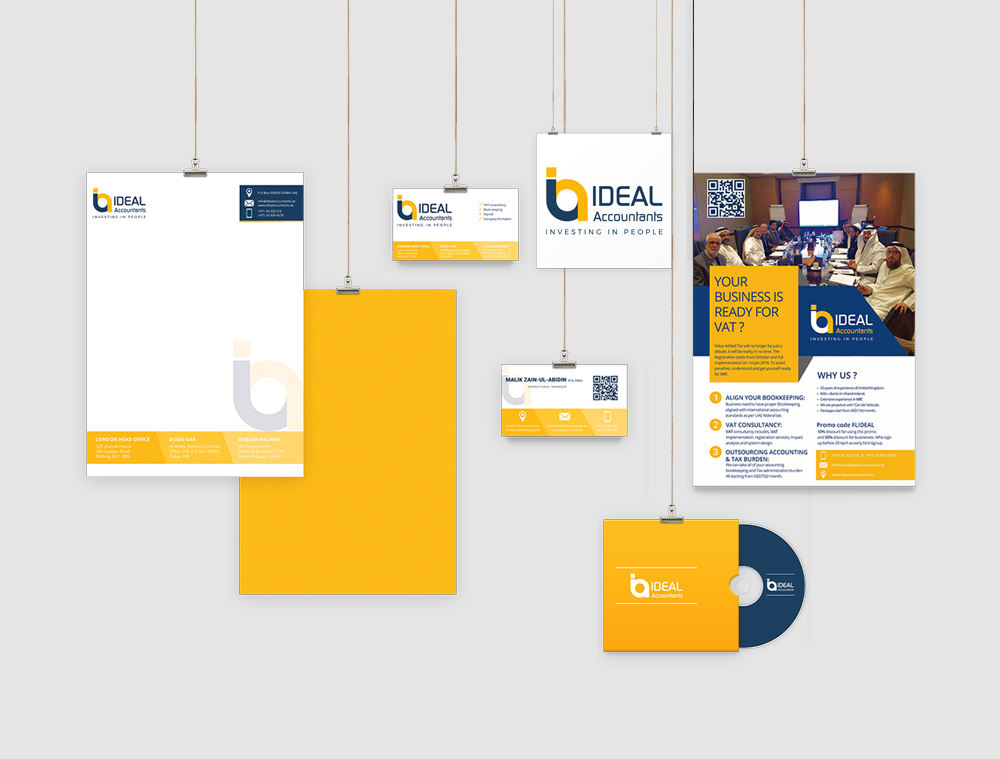Ideal Accountants Branding