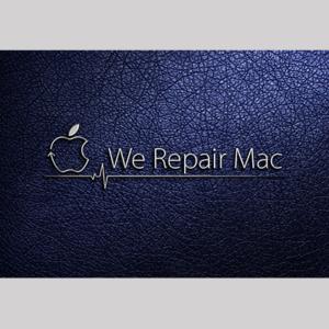 We Repair Mac Logo Design