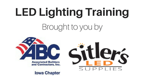 Sitler's Joins LED ABC Training Classes!