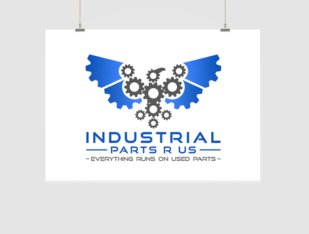 Industrial Parts Logo Design
