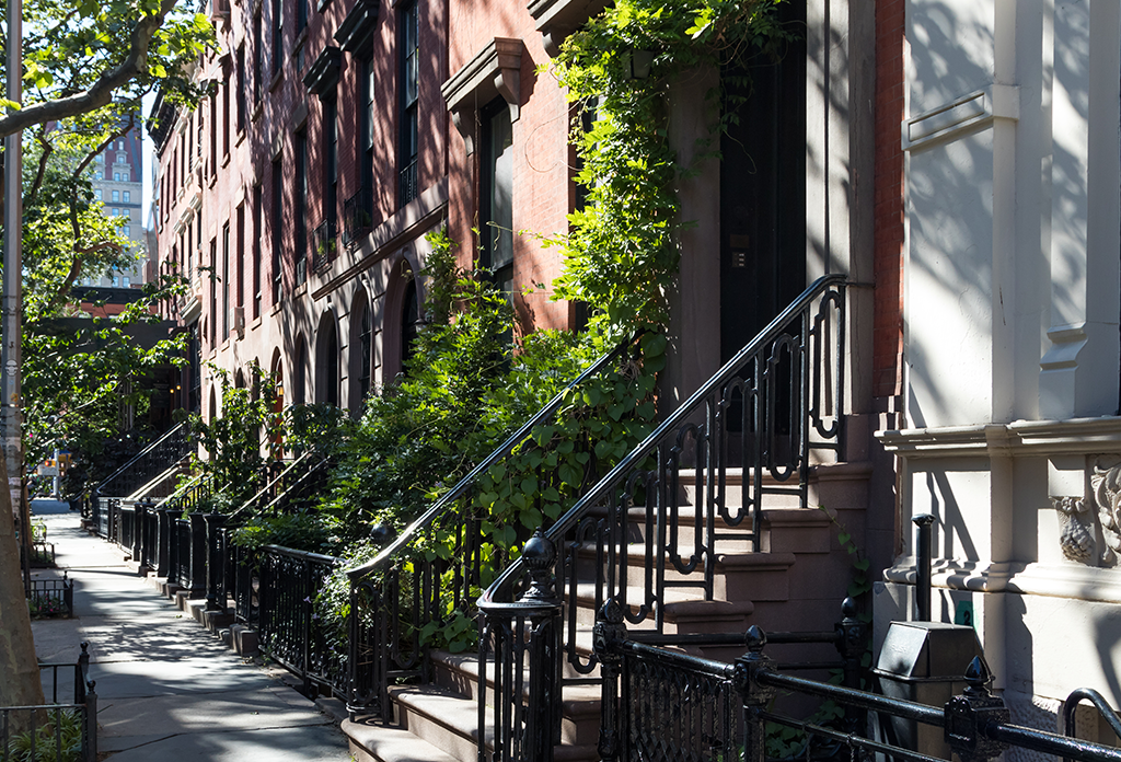 Townhouses On Gramercy Park