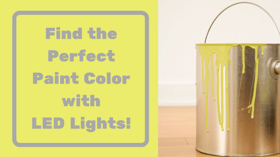LEDs and paint color