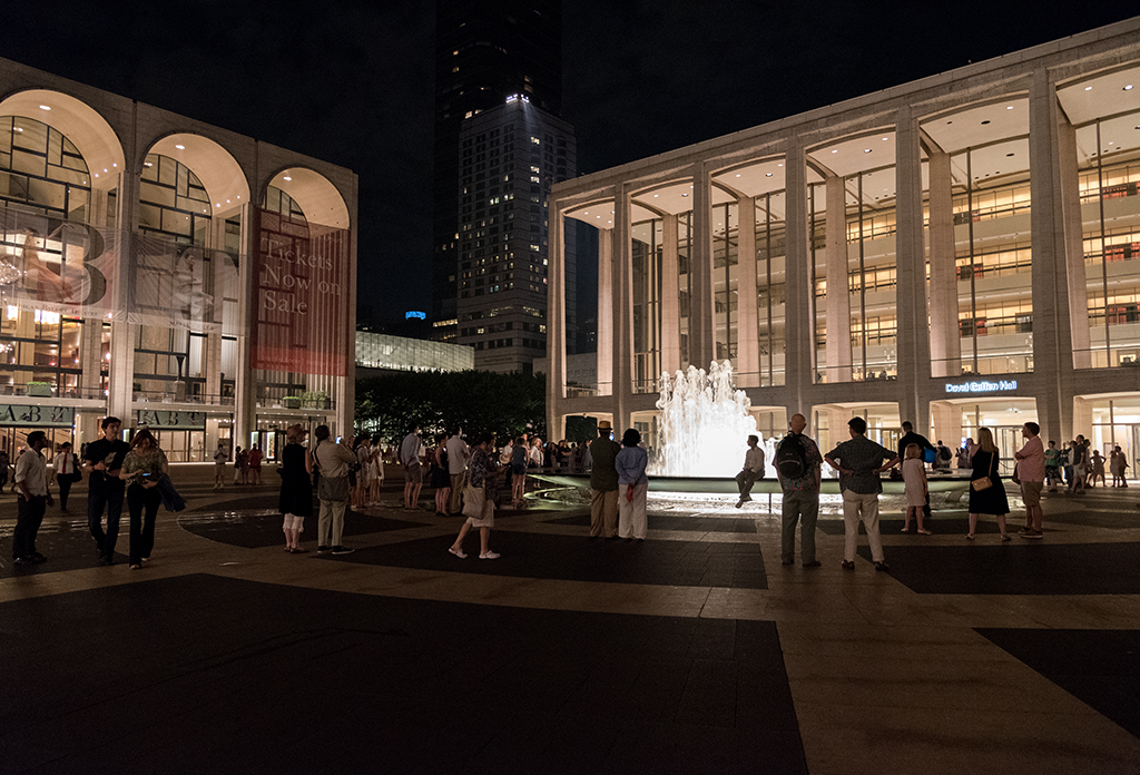 Lincoln Center On Saturday Night