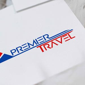 Premier Travel Logo Design