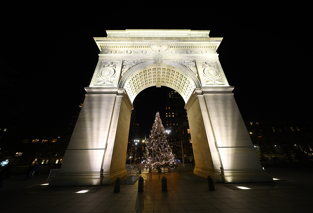 Washington Square Arch Greenwich Village