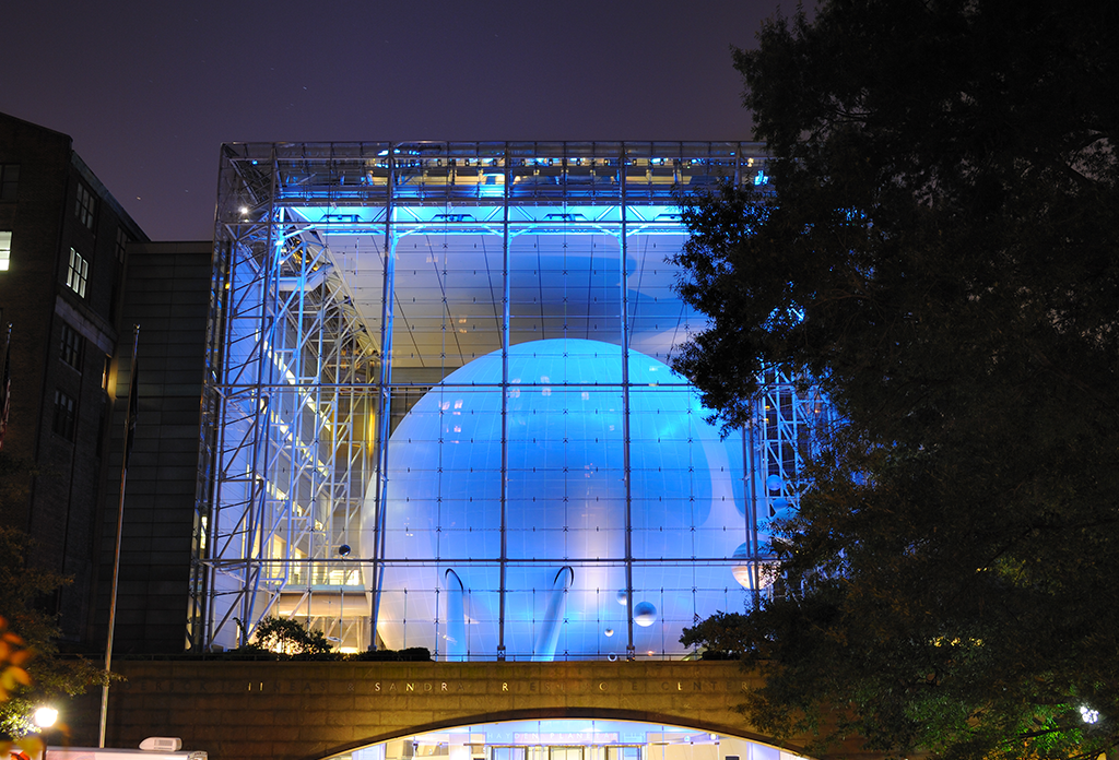 The Hayden Planetarium On The Upper West Side