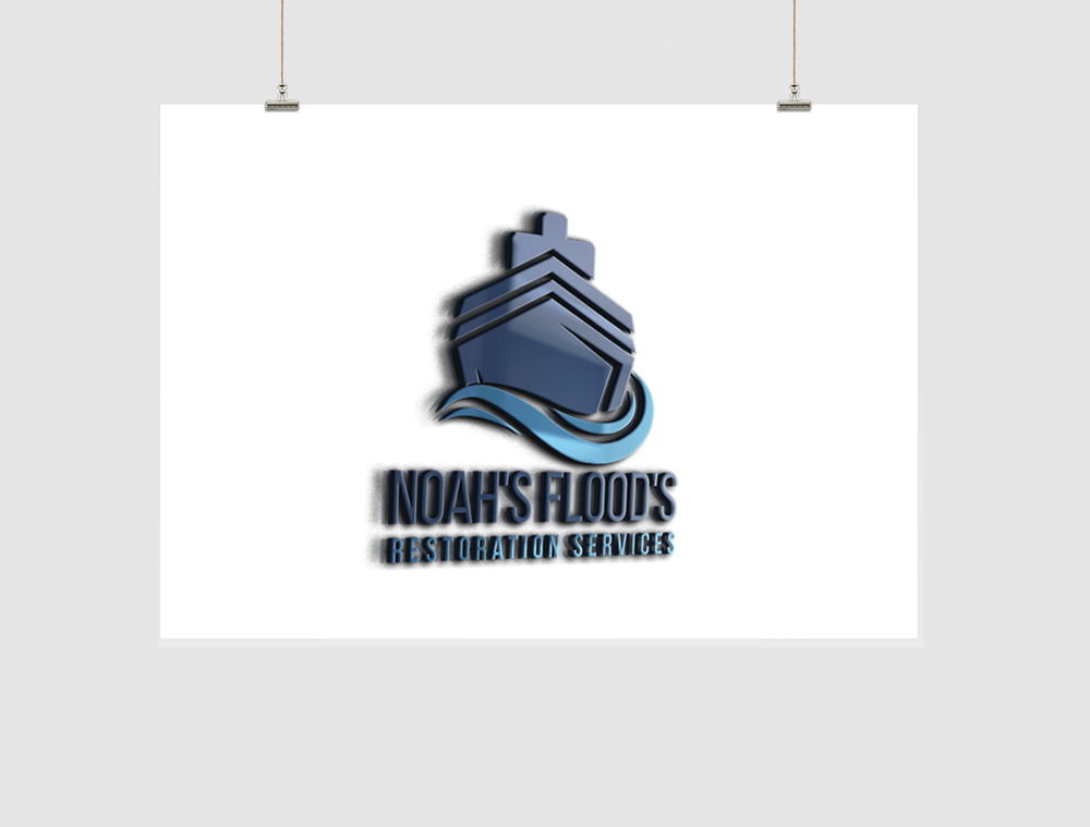 Noah's Flood's Restoration Logo Design