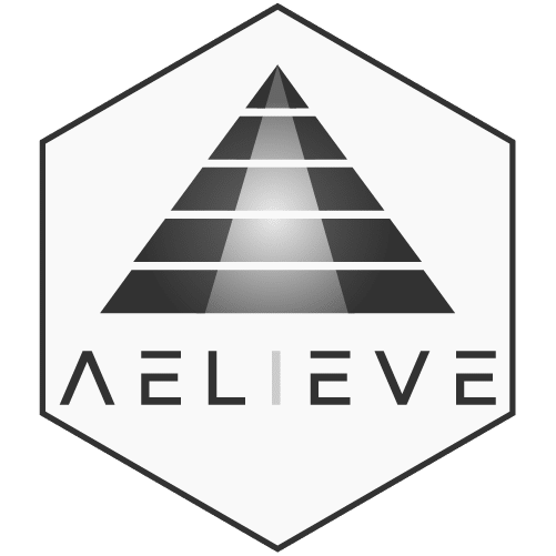7671d1a0 Core Aelieve Logo Square Text Hexartboard 1500 Px.png