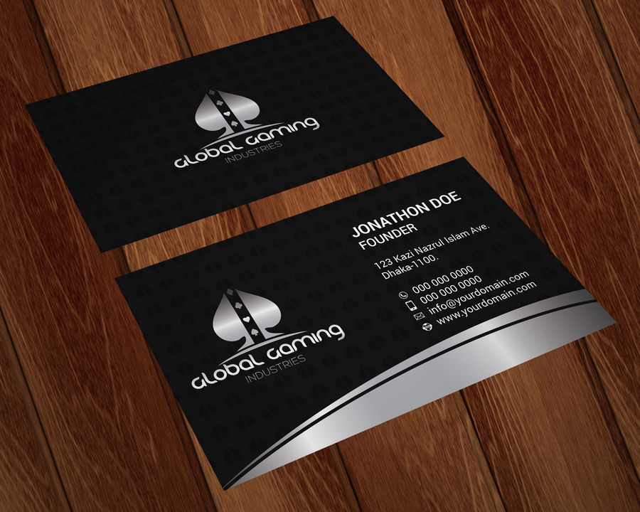 Global Gaming Industries Business Card Design | Aelieve