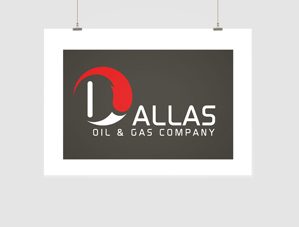 Dallas Oil & Gas Company Logo Design