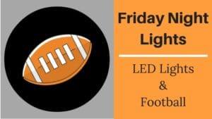 led lights and football