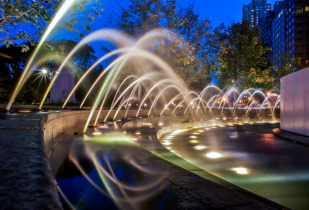 The Fountains At Columbus Circle