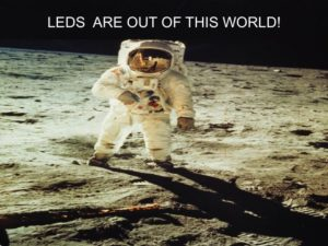 The Power of LEDs in space