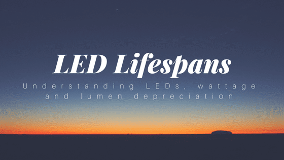 LED lifespans blog
