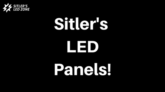 Sitler's LED panels blog image