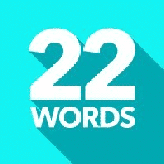 Twentytwowords.Com Logo